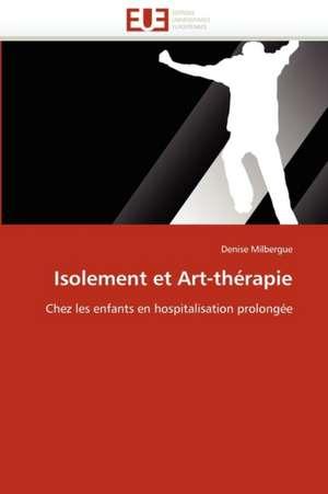 Isolement Et Art-Therapie