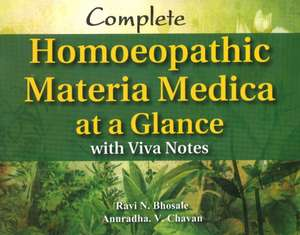Complete Homoeopathic Materia Medica at a Glance imagine
