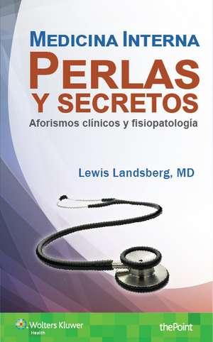 Medicina Interna. Perlas y secretos