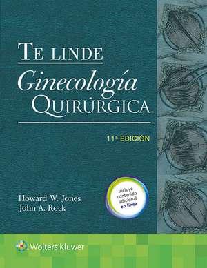 Te Linde. Ginecología quirúrgica