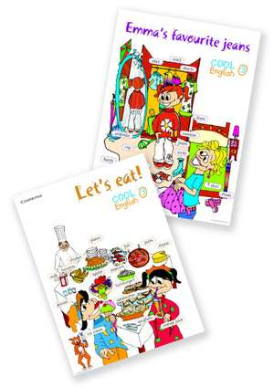 Cool English Level 3 Posters de Herbert Puchta