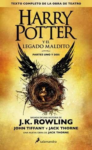 Harry Potter y El Legado Maldito de J. K. Rowling