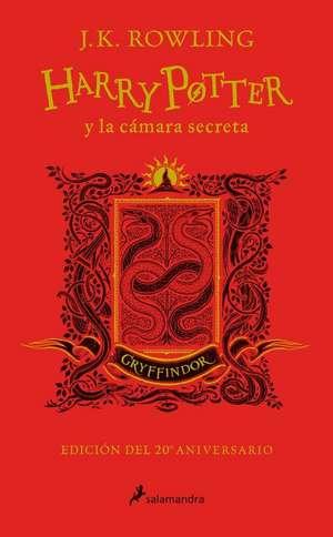 Harry Potter Y La Camara Secreta. Casa Gryffindor de J. K. Rowling
