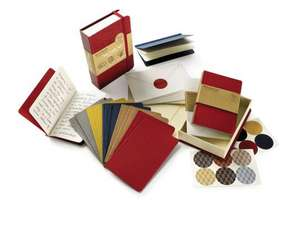 Moleskine Red Gift Box Pocket Note Cards Set