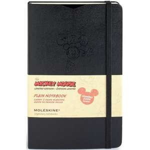 Moleskine Mickey Mouse Limited Edition Large Plain Notebook Hard