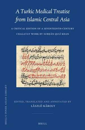 A Turkic Medical Treatise from Islamic Central Asia