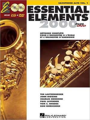 Essential Elements Ee2000 Alto Saxophone: French Edition de Hal Leonard Corp