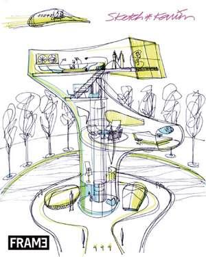Sketch:  Artworks of Karim Rashid de Karim Rashid
