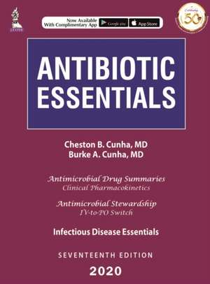 Antibiotic Essentials: 2020 de Cheston B Cunha