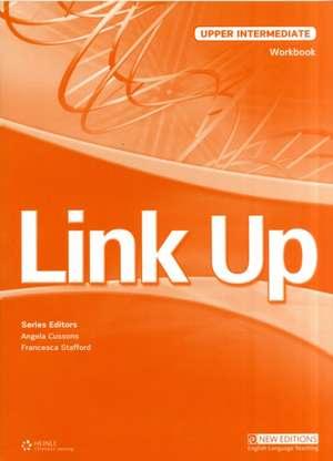 Link Up Upper Intermediate: Workbook de Angela Cussons