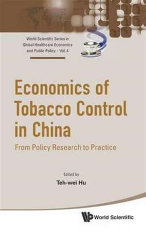 Economics of Tobacco Control in China