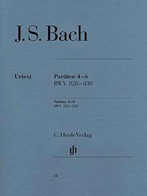 Partiten 4-6 BWV 828 - 830 de Johann Sebastian Bach