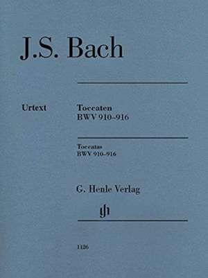 Toccaten BWV 910-916 de Johann Sebastian Bach