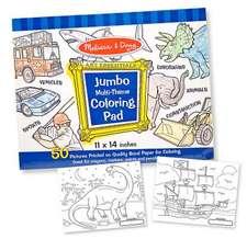 "Jumbo Coloring Pad - Blue (11"" X 14""):  Arts & Crafts - Supplies"