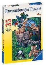 Animal Kingdom 35 Piece Puzzle:  Princess Sofia (2 X 12 PC Puzzles)