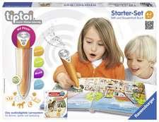 tiptoi® Set de învățare a limbii germane cu creion interactiv.: Copii de la 4 ani