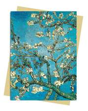Van Gogh: Almond Blossom Greeting Card: Pack of 6