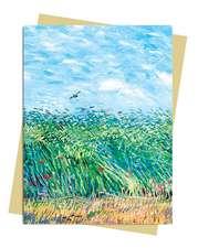 Van Gogh: Wheatfield with a Lark Greeting Card