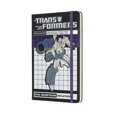 Moleskine Transformers Megatron Limited Edition Notebook Large Ruled