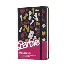 Moleskine Barbie Accessories Limited Edition Notebook Pocket Plain