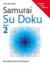 The Times Samurai Su Doku 2