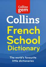 Collins French School Gem Dictionary