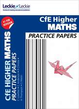 CFE Higher Maths Practice Papers for SQA Exams