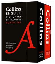 Collins English Dictionary and Thesaurus Set:  Farther Up and Farther in (Northumbria Community)