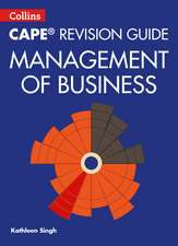 Collins Cape Revision Guide - Management of Business:  Targetting Grades 4/5