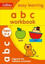 Collins Easy Learning Preschool:  ABC Workbook Ages 3-5