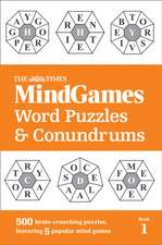 The Times MindGames Word Puzzles and Conundrums Book 1