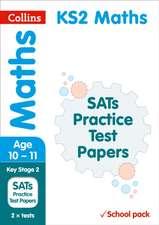 KS2 Maths SATs Practice Test Papers (School pack)