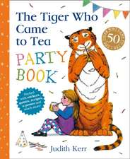 Tiger Who Came To Tea Party Book