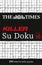 The Times Killer Su Doku Book 16