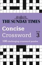 Sunday Times Concise Crossword Book 3