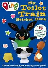 Bing: My Toilet Train Sticker Book