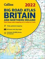 2022 Collins Big Road Atlas Britain