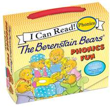 The Berenstain Bears 12-Book Phonics Fun!: Includes 12 Mini-Books Featuring Short and Long Vowel Sounds