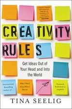 Creativity Rules
