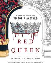 Red Queen, The Official Coloring Book