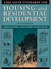 Time-Saver Standards for Housing and Residential Development