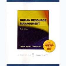 Human Resource Management (Int'l Ed)