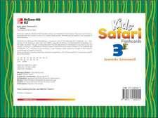 KIDS' SAFARI FLASHCARDS 3