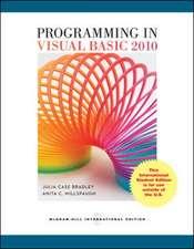 Programming in Visual Basic 2010
