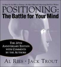 Positioning: The Battle for Your Mind, 20th Anniversary Edition