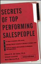 Secrets of Top-Performing Salespeople