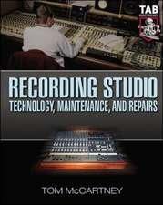 Recording Studio Technology, Maintenance, and Repairs