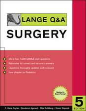 Lange Q&A Surgery, Fifth Edition