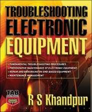 Troubleshooting Electronic Equipment