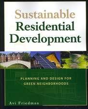 Sustainable Residential Development